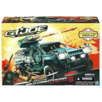 toys g i joe g i joe retaliation ninja combat cruiser vehicle with night fox figure