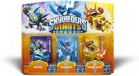 toys skylanders figures skylanders giants triple pack 1 pop fizz whirlwind trigger happy