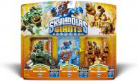 toys skylanders figures skylanders giants triple pack 5 prism break lightning rod drill sergeant