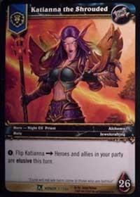 warcraft tcg archives katianna the shrouded foil