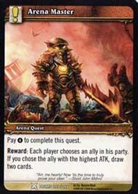 warcraft tcg drums of war arena master
