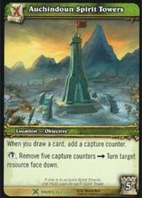 warcraft tcg drums of war auchindoun spirit towers