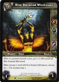 warcraft tcg drums of war blue diamond witchwand