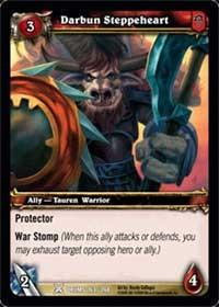 warcraft tcg drums of war darbun steppeheart