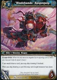 warcraft tcg fields of honor bladehands spigotgulp