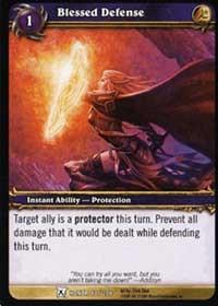 warcraft tcg fields of honor blessed defense
