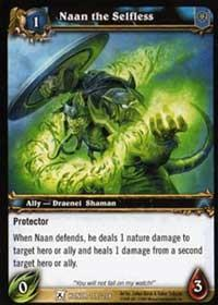 warcraft tcg fields of honor naan the selfless