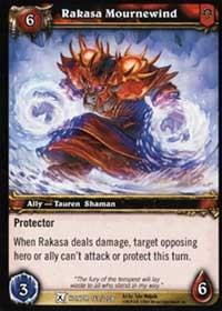 warcraft tcg fields of honor rakasa mournewind