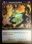 warcraft tcg foil and promo cards smoldering blast foil