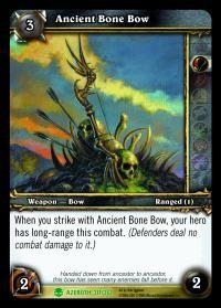 warcraft tcg heroes of azeroth ancient bone bow