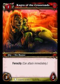 warcraft tcg heroes of azeroth kagra of the crossroads