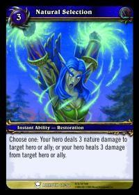 warcraft tcg heroes of azeroth natural selection