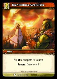 warcraft tcg heroes of azeroth your fortune awaits you