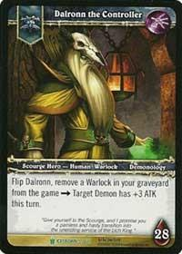 warcraft tcg icecrown dalronn the controller