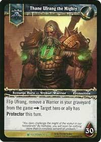 warcraft tcg icecrown thane ufrang the mighty