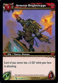 warcraft tcg march of legion arnerus brightsteppe
