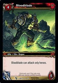 warcraft tcg march of legion bloodblade