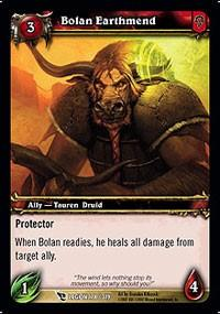 warcraft tcg march of legion bolan earthmend