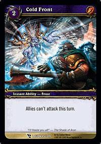 warcraft tcg march of legion cold front