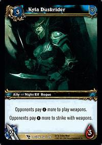 warcraft tcg march of legion kyla duskrider