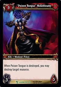 warcraft tcg march of legion poison tongue mcgillicutty