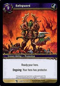 warcraft tcg march of legion safeguard