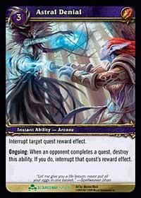 warcraft tcg scourgewar astral denial