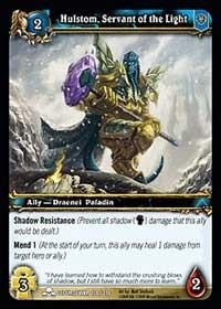 warcraft tcg scourgewar hulstom servant of the light