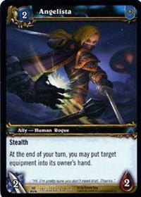 warcraft tcg servants of betrayer angelista