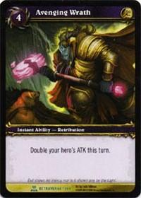 warcraft tcg servants of betrayer avenging wrath