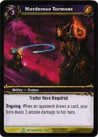 warcraft tcg servants of betrayer murderous torment