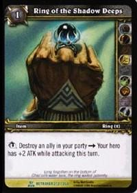 warcraft tcg servants of betrayer ring of the shadow deeps