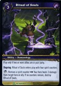 warcraft tcg servants of betrayer ritual of souls