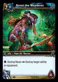 warcraft tcg the dark portal kavai the wanderer