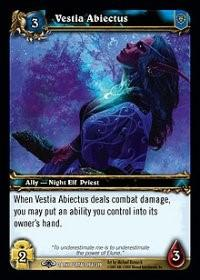 warcraft tcg the dark portal vestia abiectus