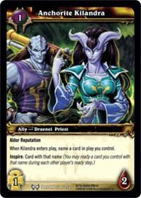 warcraft tcg the hunt for illidan anchorite kilandra