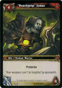 warcraft tcg the hunt for illidan deathgrip jones
