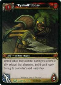 warcraft tcg the hunt for illidan eyeball jones