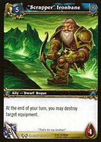 warcraft tcg the hunt for illidan scrapper ironbane