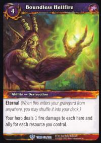 warcraft tcg tomb of the forgotten boundless hellfire