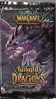 warcraft tcg twilight of dragons foreign wild growth japanese