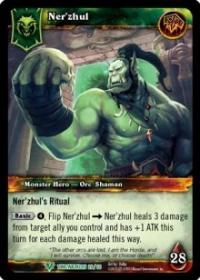 warcraft tcg war of the ancients ner zhul alternate
