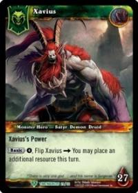 warcraft tcg war of the ancients xavius alternate