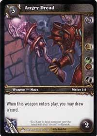 warcraft tcg wrathgate angry dread