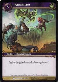 warcraft tcg wrathgate annihilate