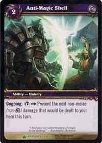 warcraft tcg wrathgate anti magic shell