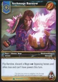 warcraft tcg wrathgate archmage barstow