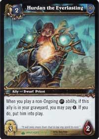 warcraft tcg wrathgate hurdan the everlasting