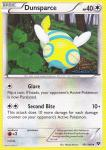 pokemon xy base set dunsparce 101 146