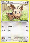 pokemon xy base set lillipup 108 146